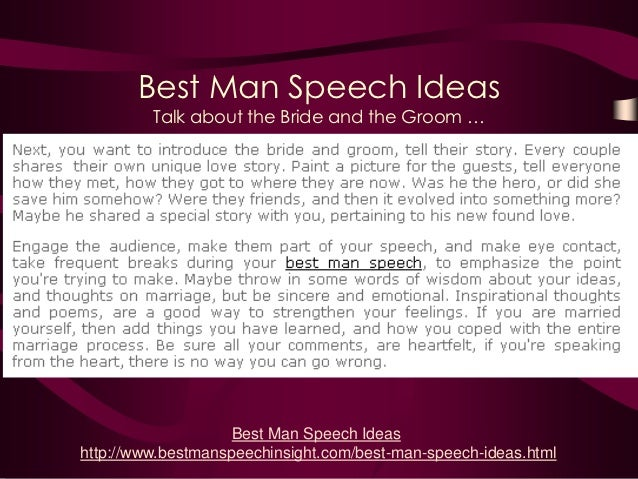 story speech ideas
