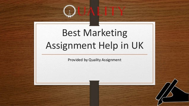 Best Marketing Assignment Help in UK Provided by Quality Assignment