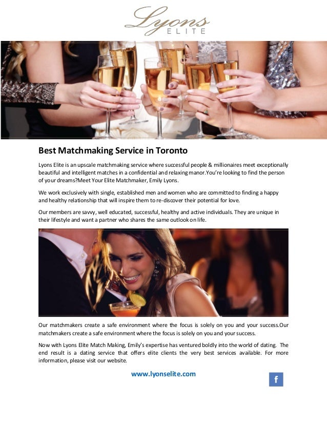 Top matchmaking services toronto