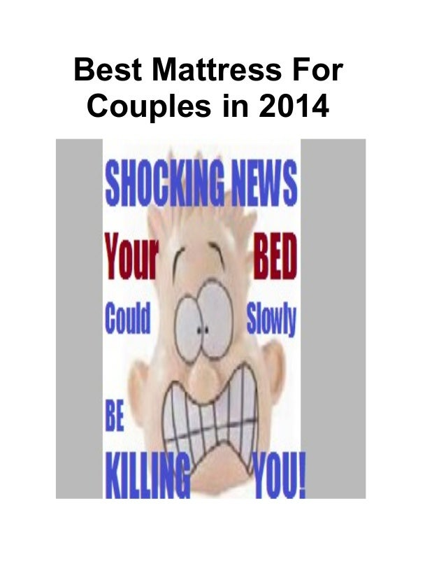 Best Mattress For Couples in 2014