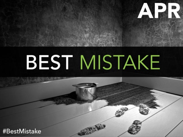Sometimes 'career mistakes' aren't mistakes at all. They can lead to unexpected opportunities.
