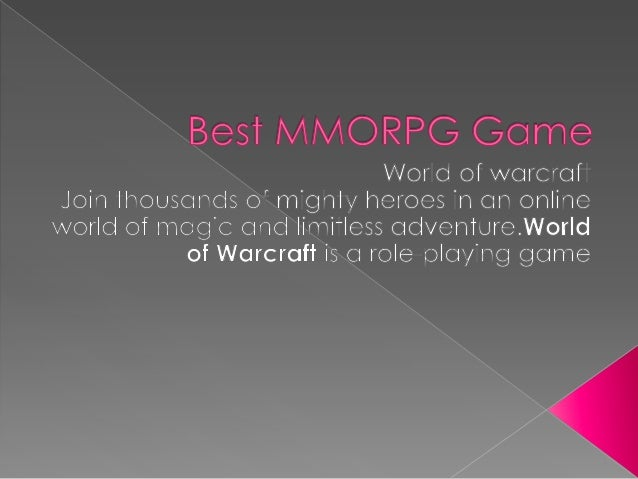 Top MMORPG Games