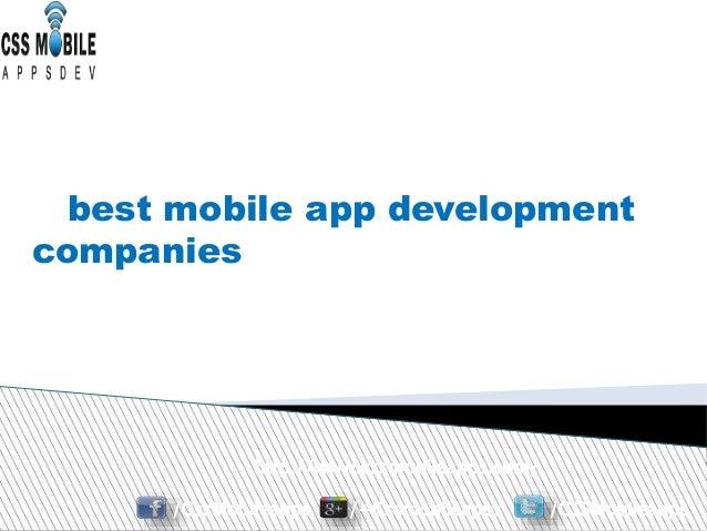 http://www.cssmobileapps.com/ /CssMobileapps /+Cssmobileapps /CSSMobileapps best mobile app development companies