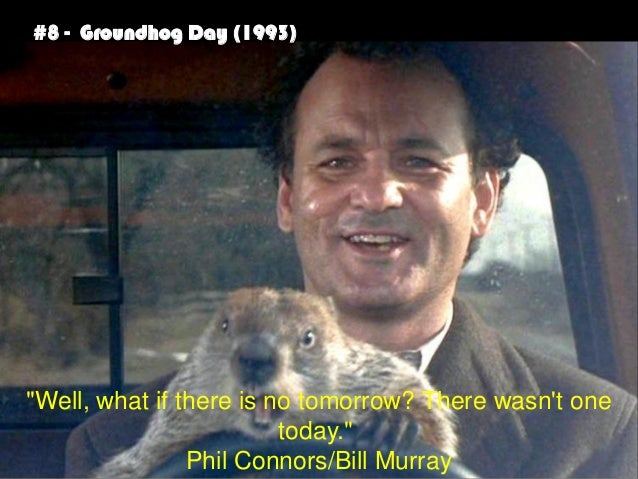 Best Movie Quotes60 60 Amazing Groundhog Day Movie Quotes