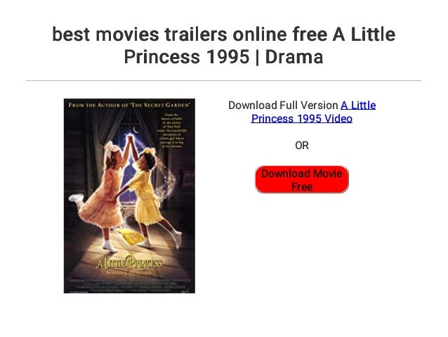 Best Movies Trailers Online Free A Little Princess 1995 Drama