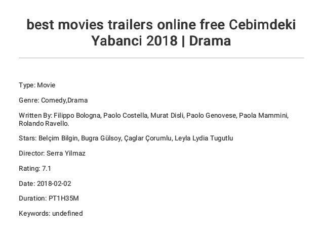 best movies trailers online free