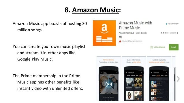 Best Music Streaming Apps and Free Mp3 Downloads for Android
