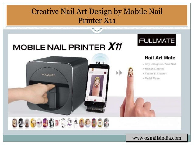 4 Creative Nail Art Design By Mobile Printer
