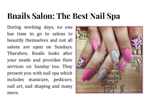 Best nail salon near me with the best services