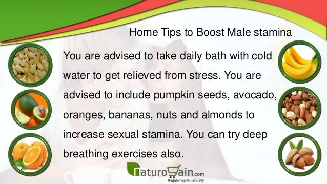 How to increase sex stamina naturally