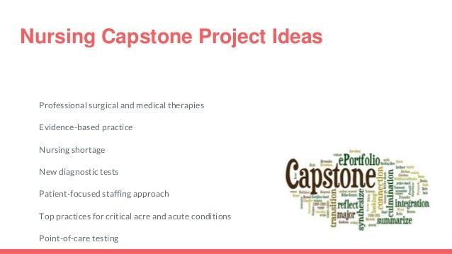 capstone project for nicu