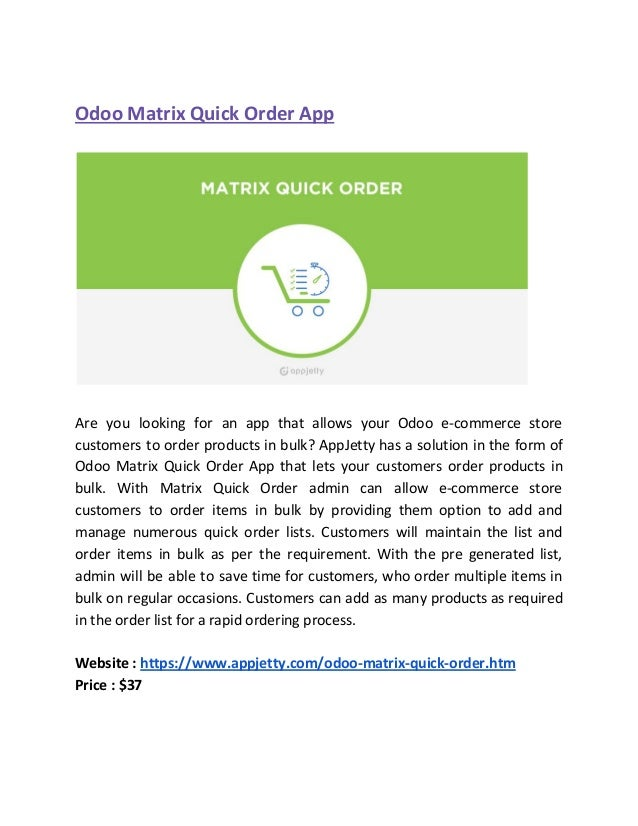 Best Odoo Apps for Your Online eCommerce Store