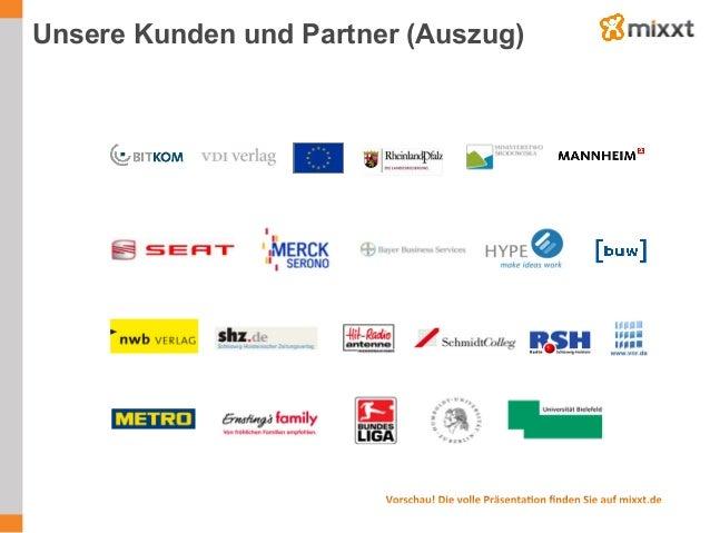 Unsere Kunden und Partner (Auszug)