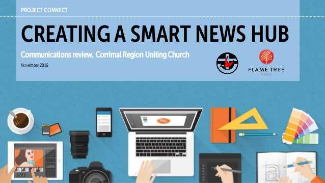 PROJECT CONNECT CREATING A SMART NEWS HUB Communications review, Corrimal Region Uniting Church November2016