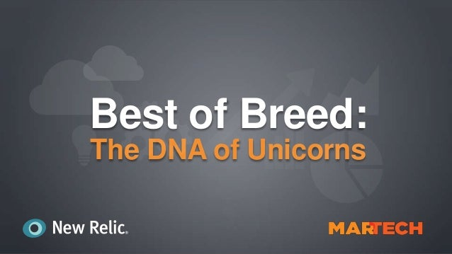 Best of Breed: The DNA of Unicorns