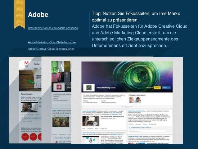 Adobe  Unternehmensseite von Adobe besuchen  Adobe Marketing Cloud-Seite besuchen  Adobe Creative Cloud-Seite besuchen  Ti...