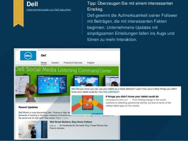 Dell  Unternehmensseite von Dell besuchen  Tipp: Überzeugen Sie mit einem interessanten  Einstieg.  Dell gewinnt die Aufme...