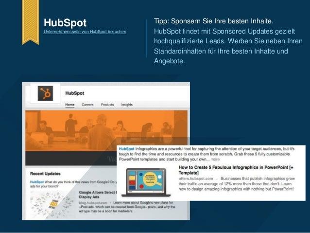 HubSpot  Unternehmensseite von HubSpot besuchen  Tipp: Sponsern Sie Ihre besten Inhalte.  HubSpot findet mit Sponsored Upd...