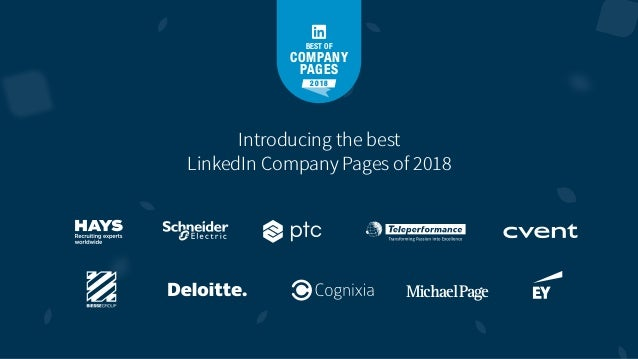 Best of Company Pages 2018 Slide 3