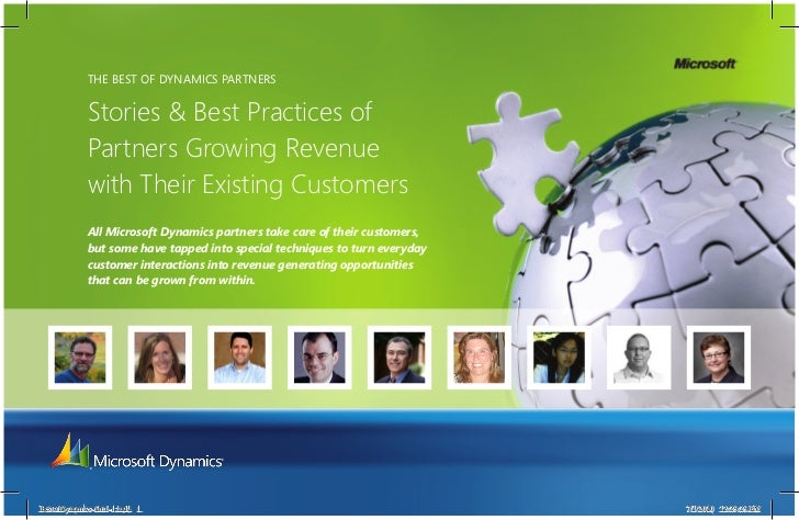 The BesT of Dynamics ParTners             Stories & Best Practices of             Partners Growing Revenue             wit...