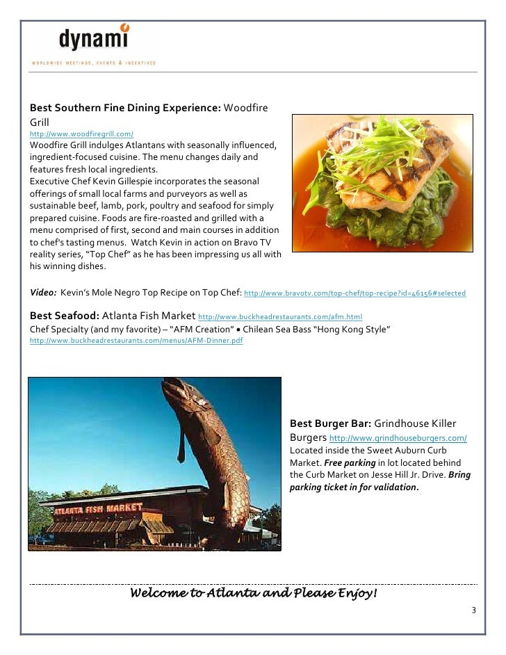 Best Southern Fine Dining Experience: Woodfire Grill http://www.woodfiregrill.com/ Woodfire Grill indulges Atlantans with ...