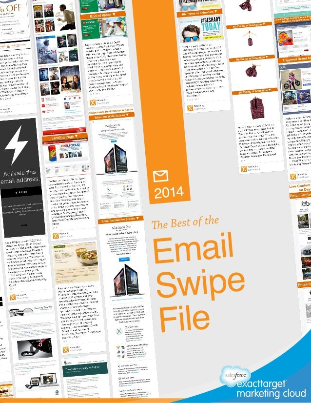 The Best of the Email Swipe File 2014