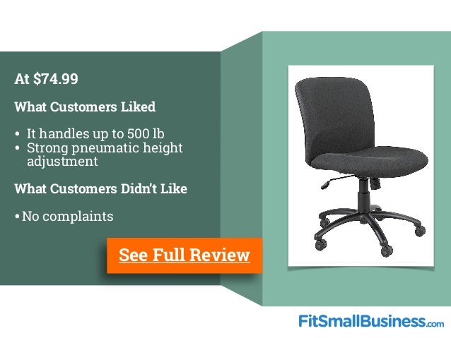 ... 13. At $74.99 What Customers ...  sc 1 st  SlideShare : office chairs for customers - Cheerinfomania.Com