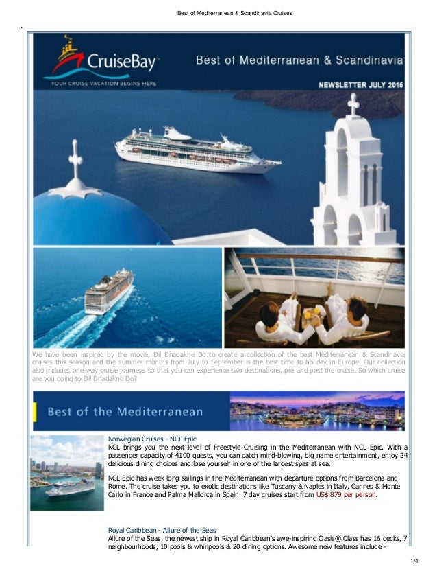 Best Of Mediterranean Scandinavia Cruises For This Year - Best mediterranean cruises