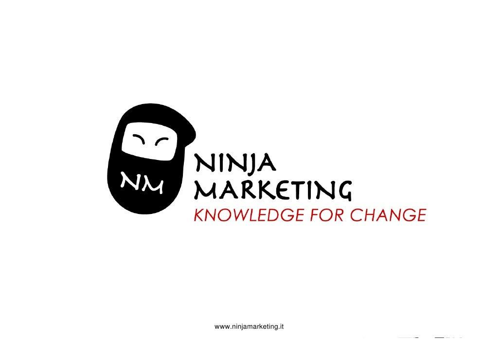 Attività svolte durante lo stage            www.ninjamarketing.it