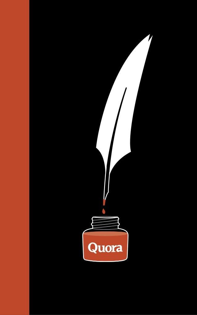 Best Of Quora 2010 2012