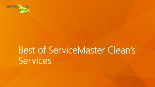Best of ServiceMaster Clean's Services