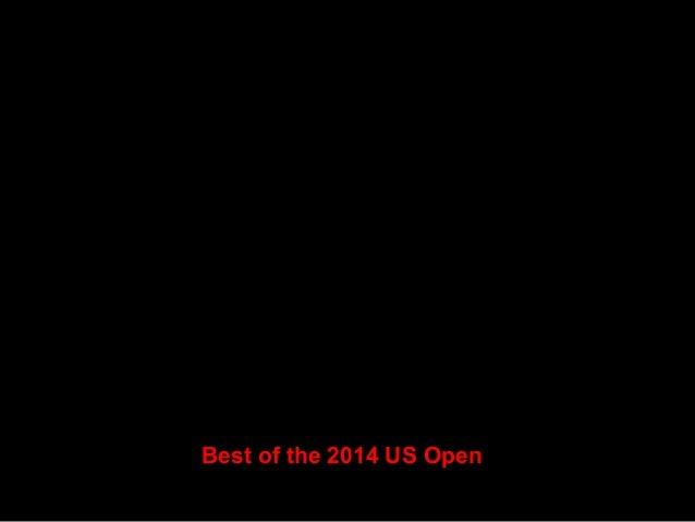 Victoria Azarenka (top) of Belarus and Caroline Wozniacki (bottom) of Denmark practice prior to the start of the 2014 U.S....