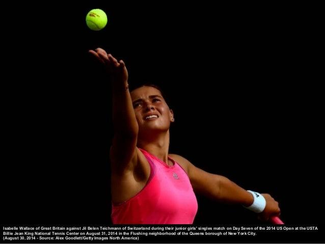 Caroline Wozniacki of Denmark returns a shot against Shu ai Peng of China during their women's singles semifinal match on ...