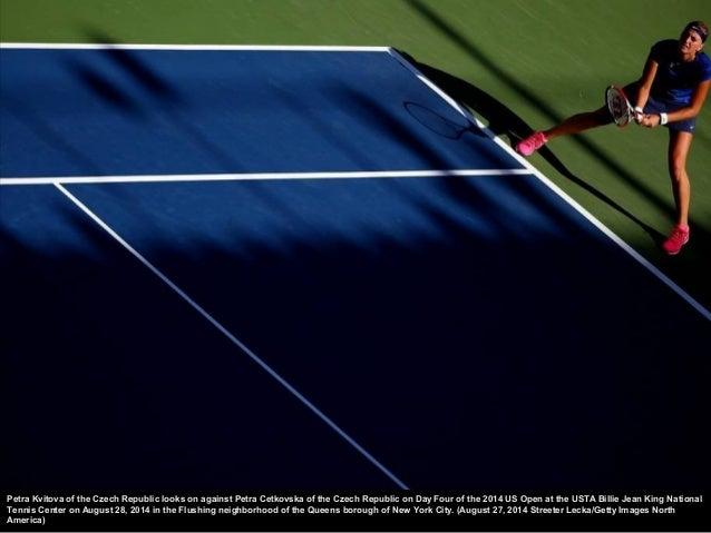 Maria Sh arapova of Russia serves against Alexandra Dulg heru of Romania during their women's singles second round match o...