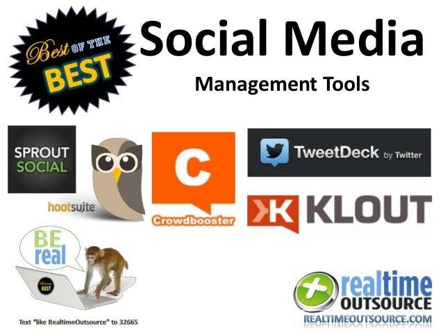 Social MediaManagement Tools