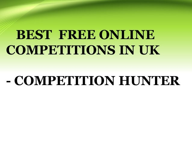free online competitions to win money uk