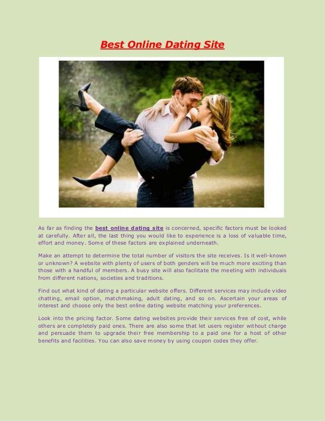 Best paid online dating website