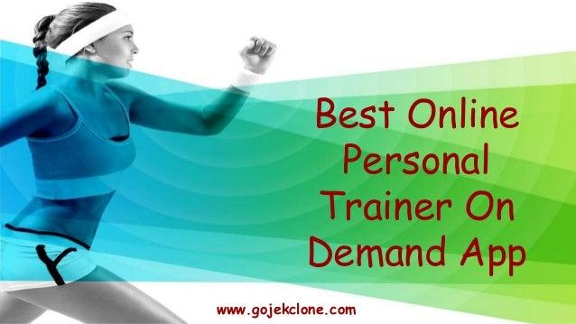 Best Online Personal Trainer On Demand App www.gojekclone.com