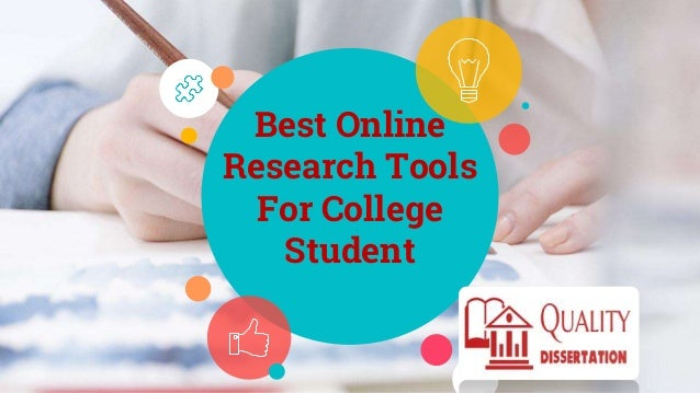 Best Online Research Tools For College Student
