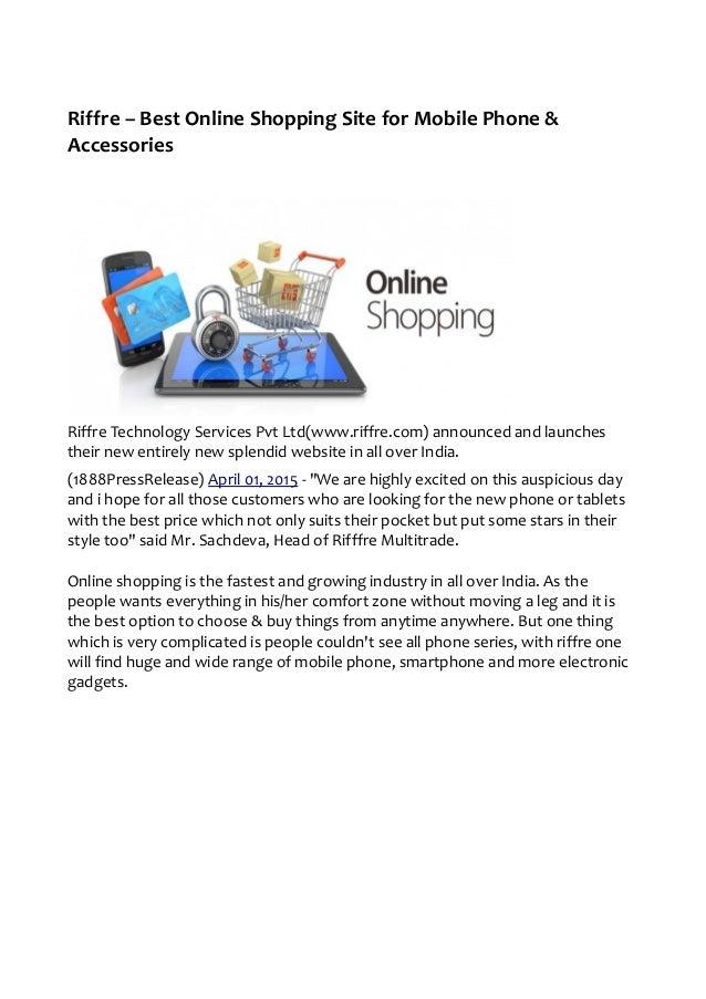 Online shopping websites for mobiles