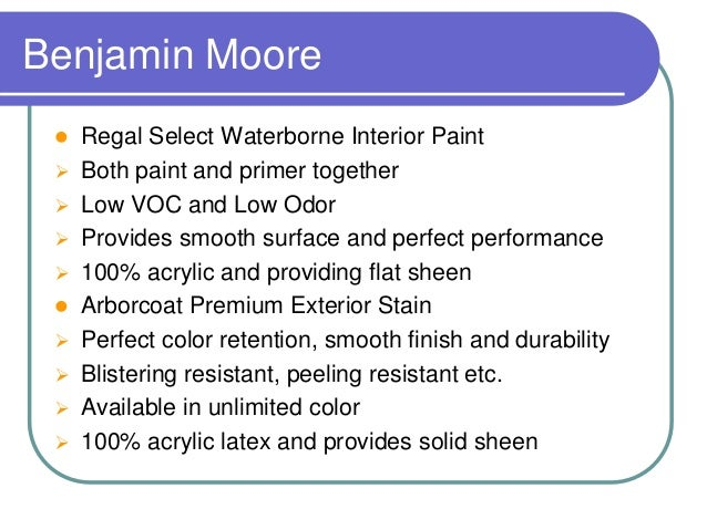 Best Paint Brand For Furniture