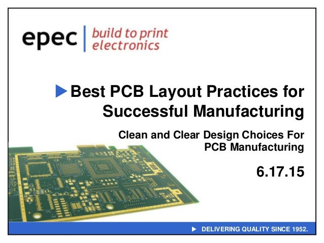 Best PCB Layout Practices for Successful Manufacturing