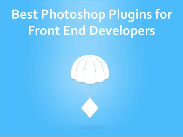 Best Photoshop Plugins for Front End Developers