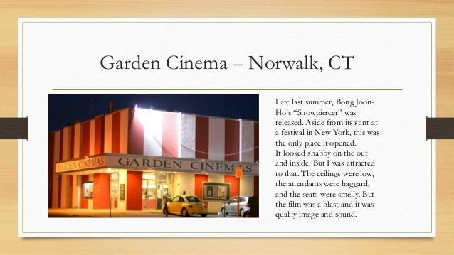 garden cinema norwalk ct - Garden Cinema Norwalk Ct