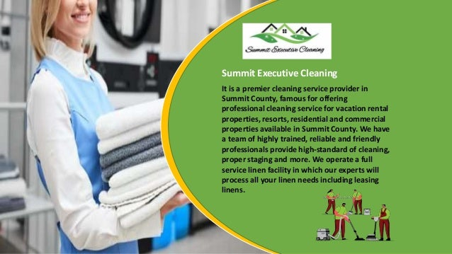 Best Place to Avail Full Linen Service Near Me in Summit County Slide 3