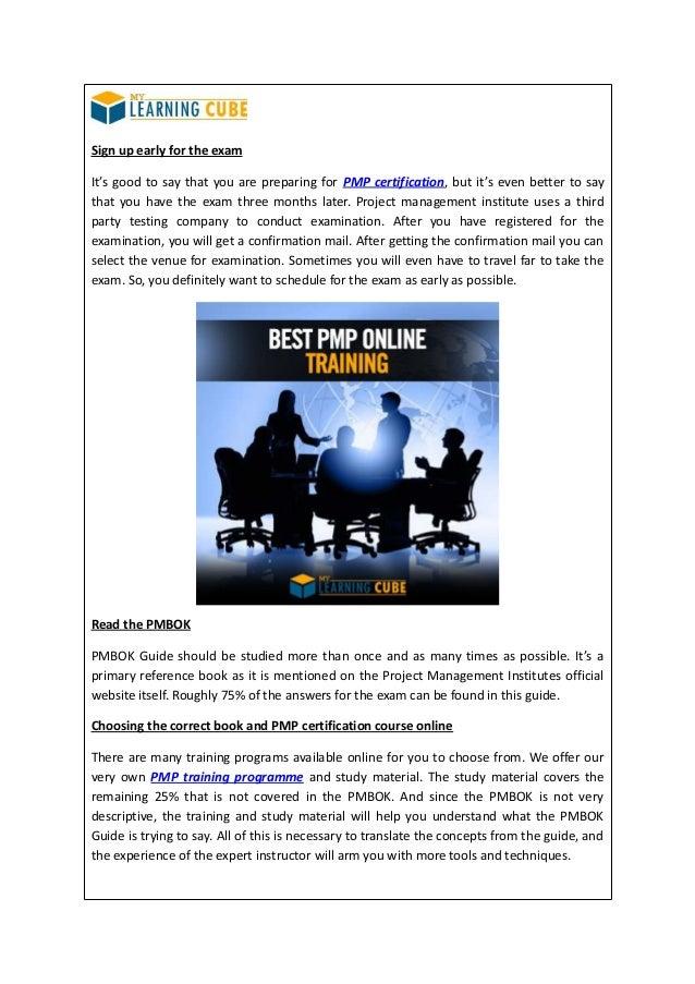 Best Pmp Online Training Mylearningcube