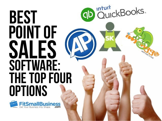 Software: The Top Four Options Best Point of Sales 1