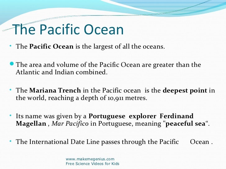 Best ppt on ocean facts