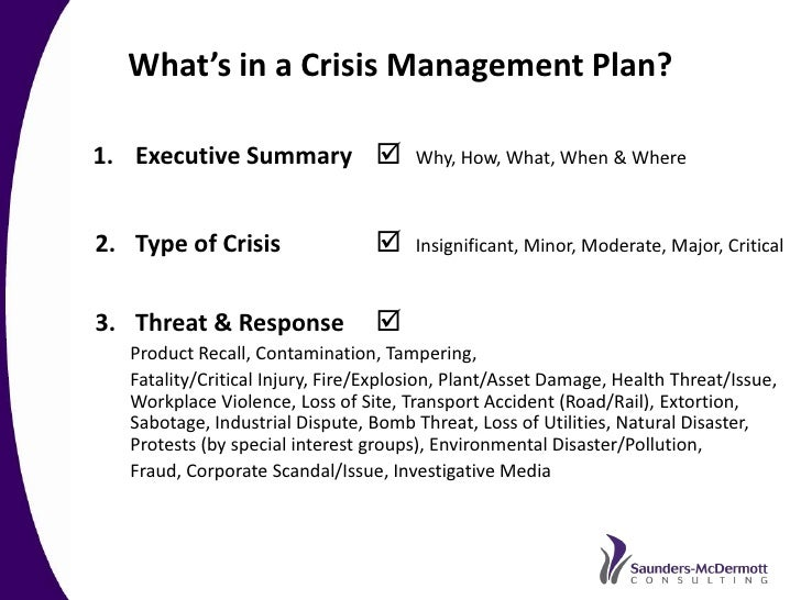 Best Practice Crisis And Issues Management A Recommended