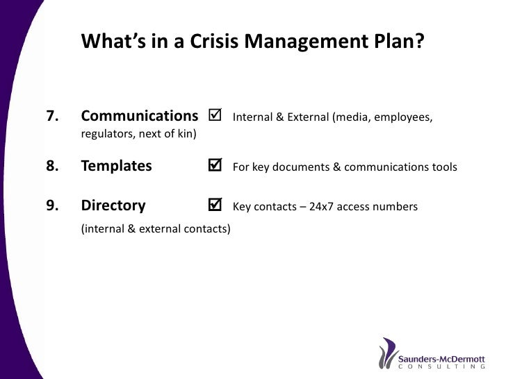 How to prepare for an earthquake and tsunami crisis for Sample crisis management plan template